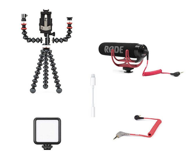 Scandinavian Photo Mobile vlog kit Multi Mobile rig
