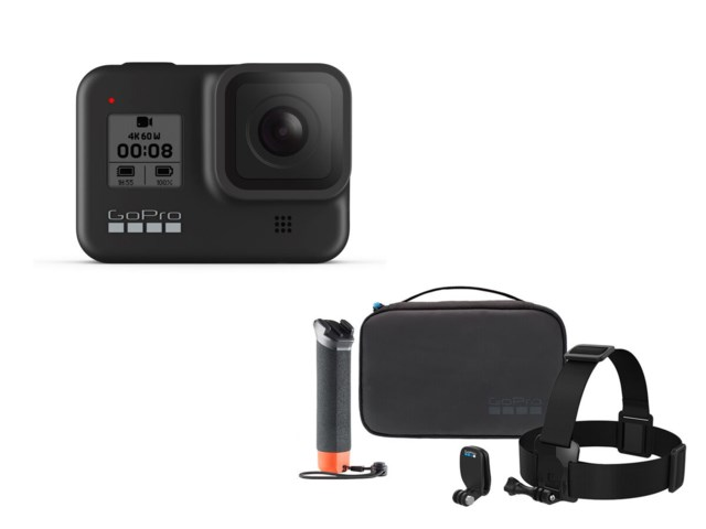 GoPro Hero 8 Black + Eventyrskit