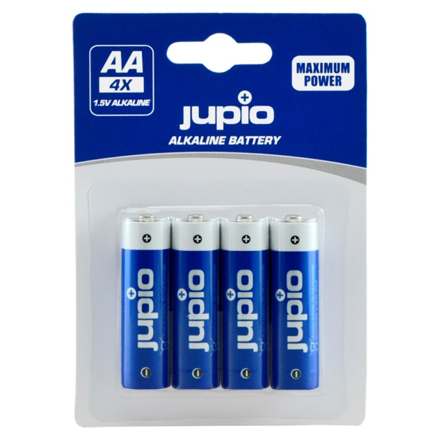 Jupio AA LR6 1,5V Batteri 4-Pack