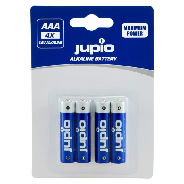 Jupio AAA LR3 1,5V Batteri 4-Pack