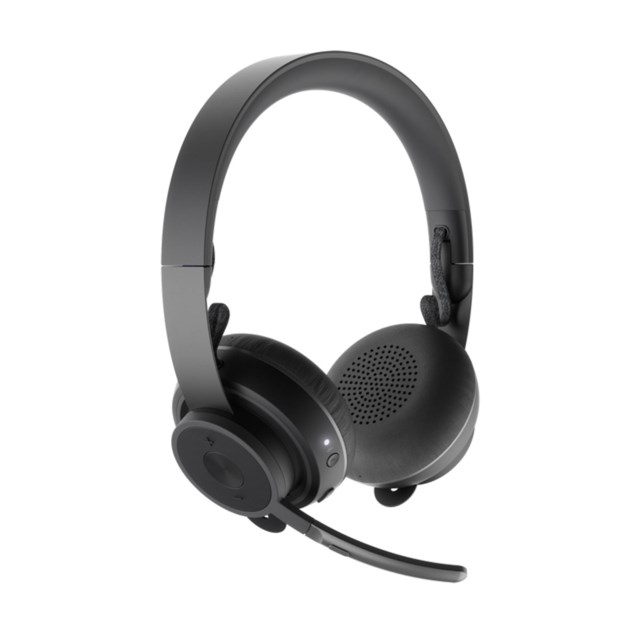 Logitech Zone Wireless Headset Bluetooth - svart