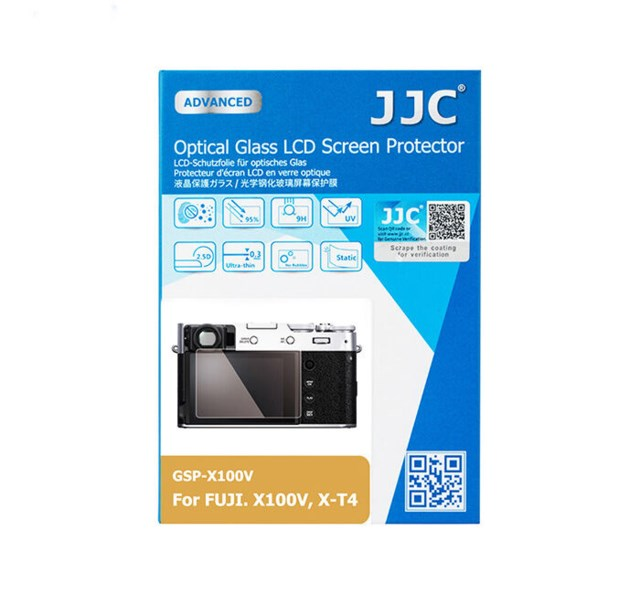 JJC LCD-beskyttelse Optical Glass til Fuji X100V & X-T4