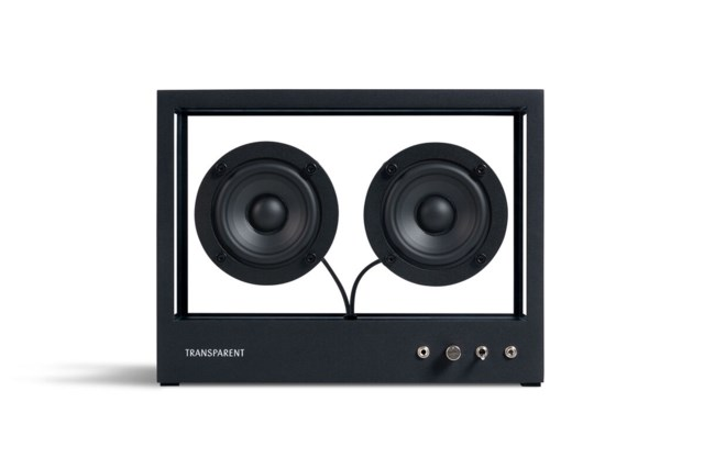 Transparent Small Transparent Speaker - Black