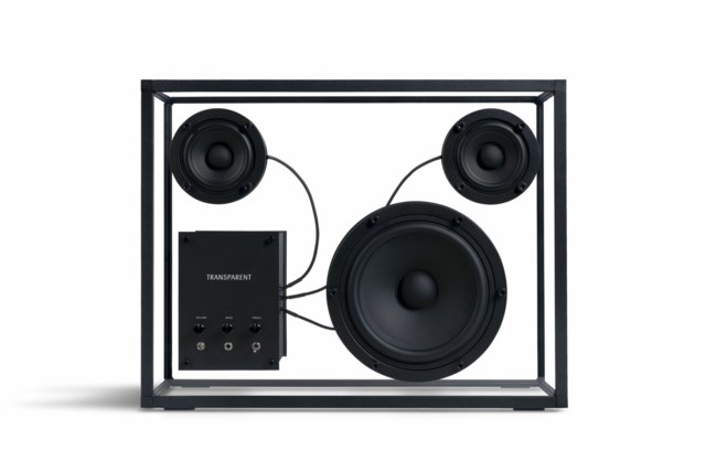 Transparent Transparent Speaker - Black