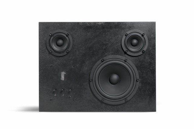 Transparent Steel Speaker- Black