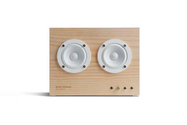 Transparent Wood Speaker - Ash