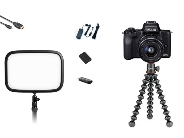 Scandinavian Photo Streamingkit Canon EOS M50 + EF-M 15-45mm + Elgato