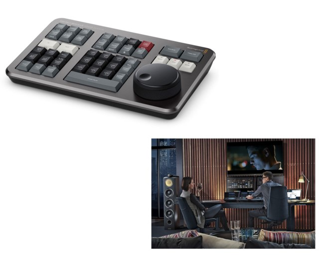 Blackmagic Design DaVinci Resolve Studio + Speed Editor
