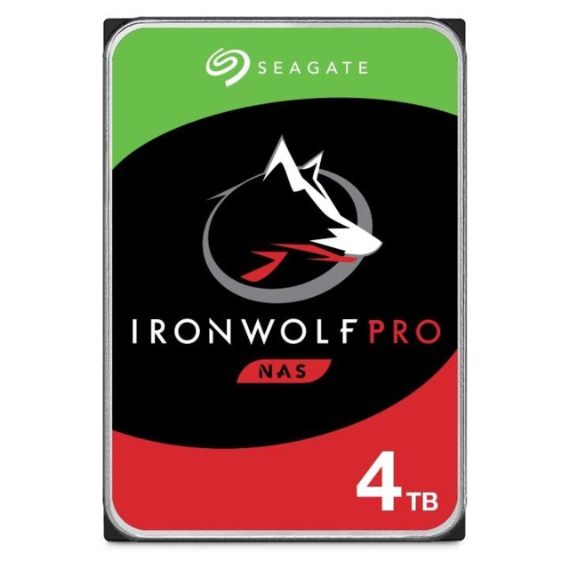 "Seagate IronWolf Pro 4TB 7200rpm 3,5"" intern HDD NAS"