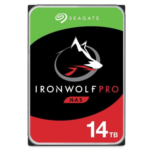 "Seagate IronWolf Pro 14TB 7200rpm 3,5"" intern HDD NAS"