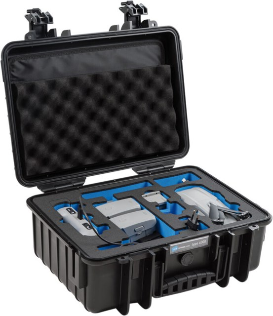 B+W Outdoor Case Type 4000 Svart DJI Mavi Air 2 Fly More Kit