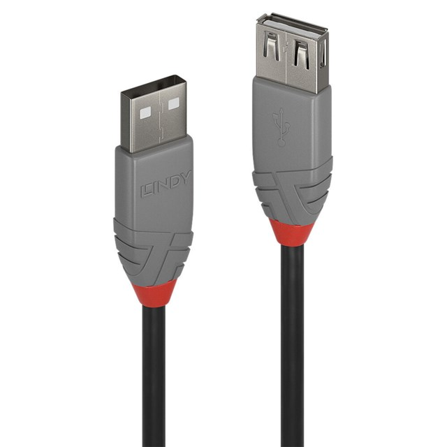 Lindy USB A Male - USB A Female - 3m USB 2.0