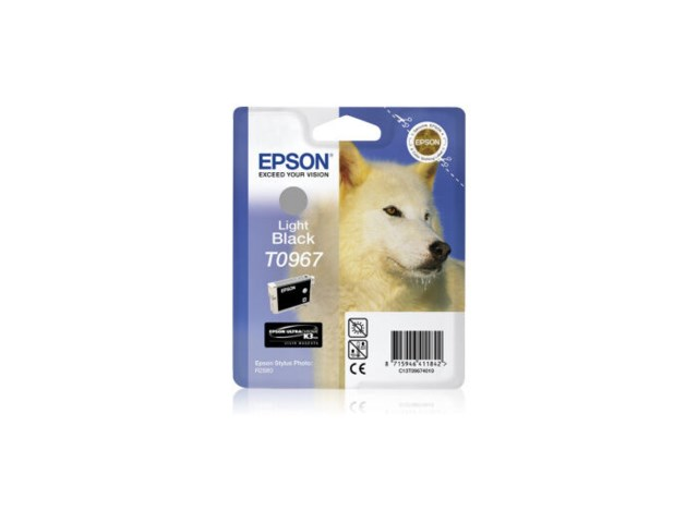 Epson Blekk T0967 Light Black