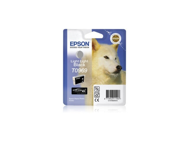 Epson Blekk T0969 Light Light Black