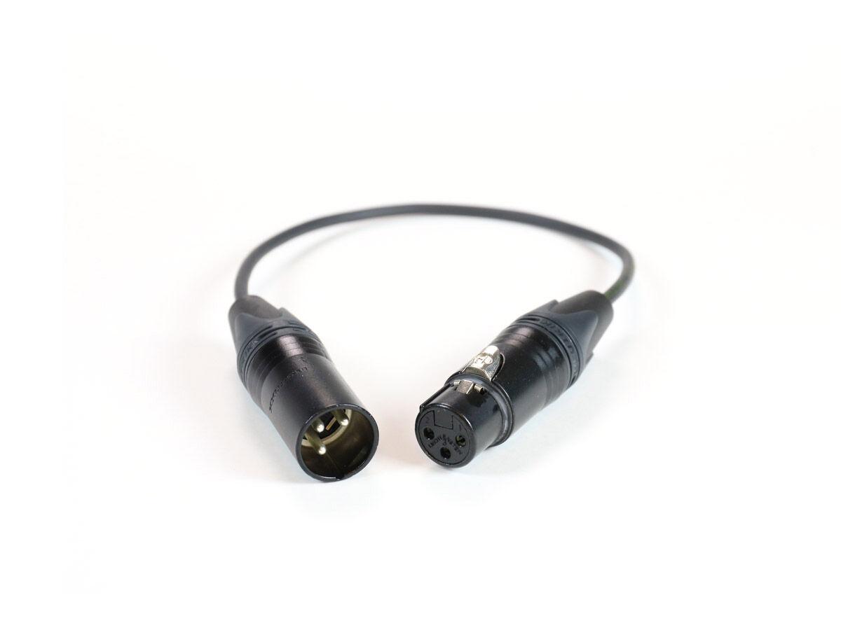 Pulse Mikrofonkabel XLR hun 3,5 mm minitele 3,5 han 3 m