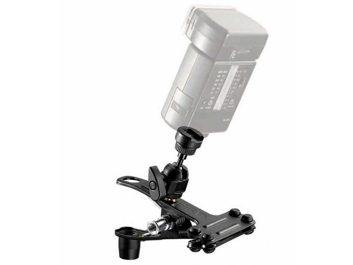 Manfrotto M175 Spring Clamp m/flashfeste