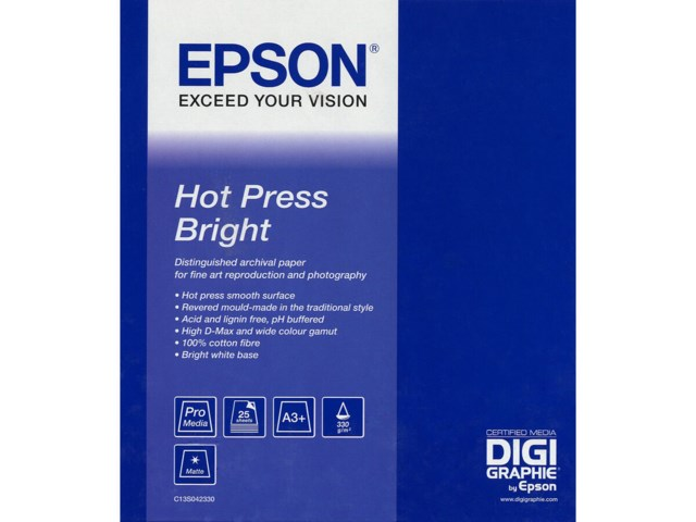 Epson A2 Hot Press Bright