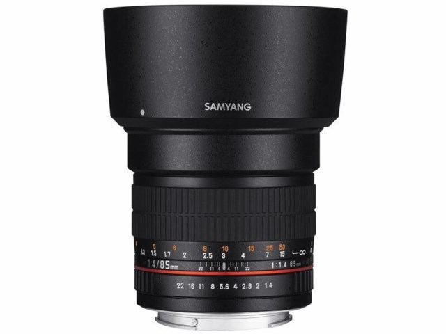 Samyang 85mm f/1.4 IF MC Aspherical til Canon