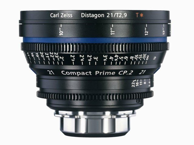 Zeiss Compact Prime CP.2 21mm T2.9 Canon EF-mount