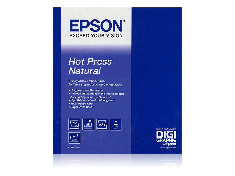 Epson Hot Press Natural 24""