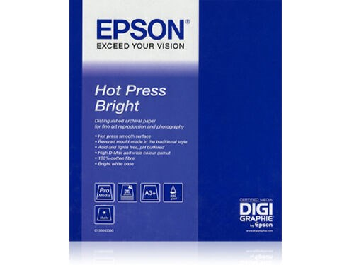 Epson Hot Press Bright 17""