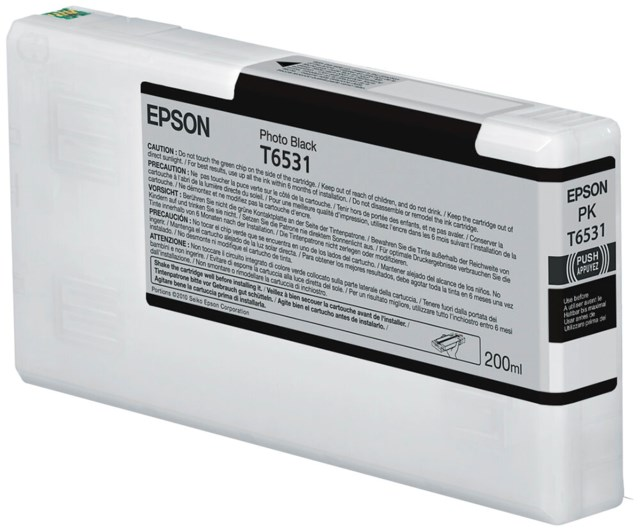 Epson Blekk T6531 Photo Black 200 ml