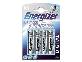 Energizer Ultimate Lithium AA L91, 4 pk