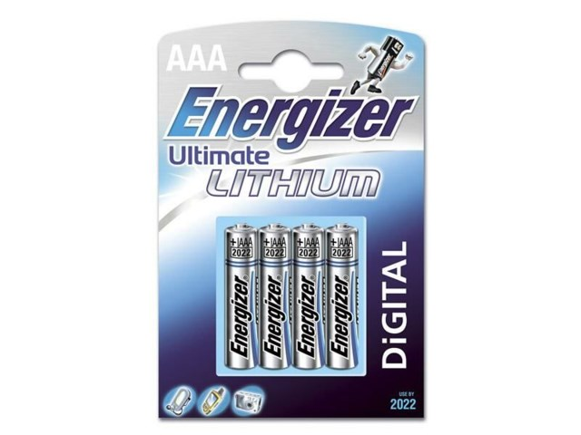 Energizer Ultimate Lithium AAA L92, 4 pk