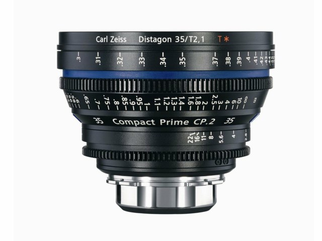 Zeiss Compact Prime CP.2 35mm T2.1 PL-mount