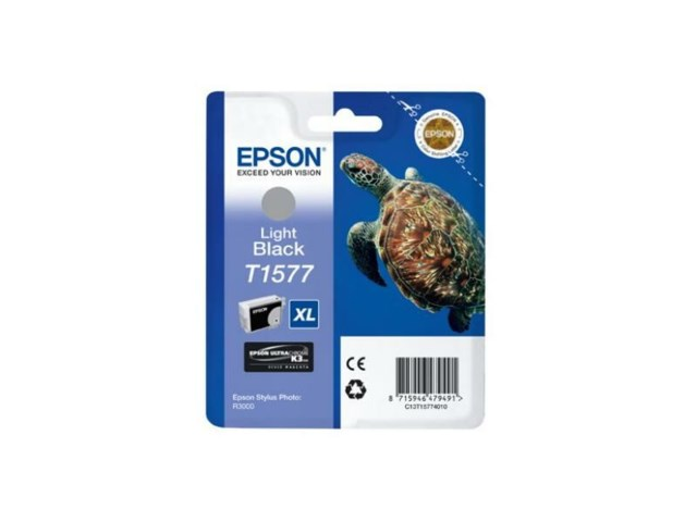 Epson Blekk T1577 Light Black