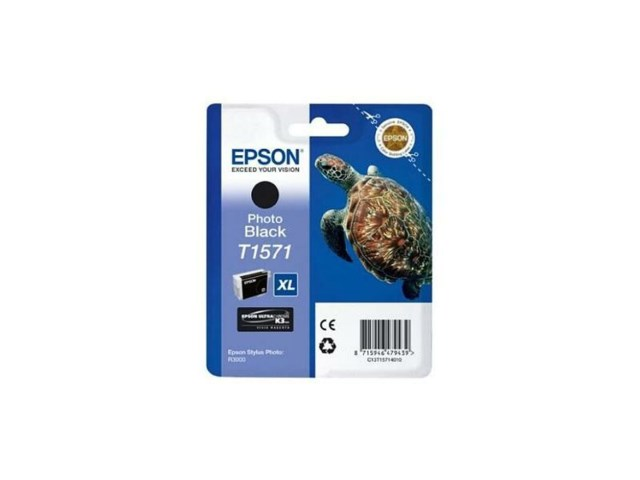 Epson Blekk T1571 Photo Black