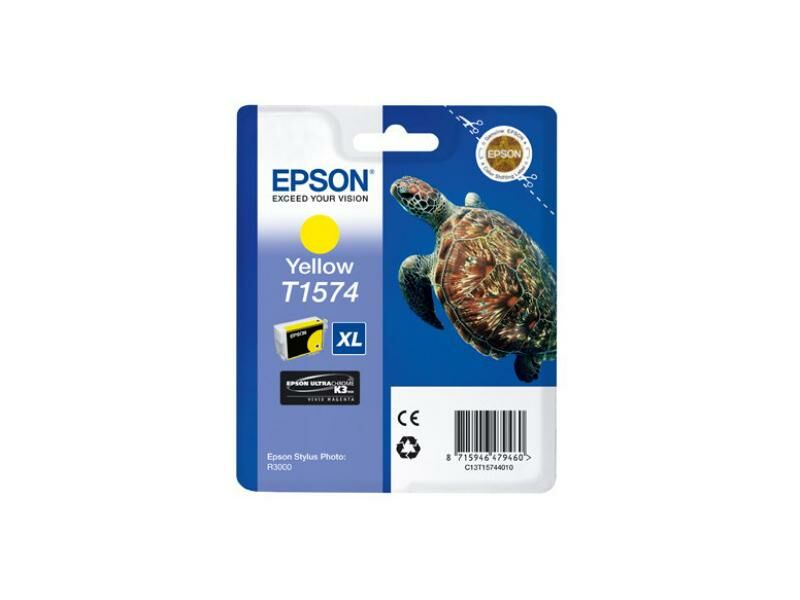 Epson Blekk T1574 Yellow