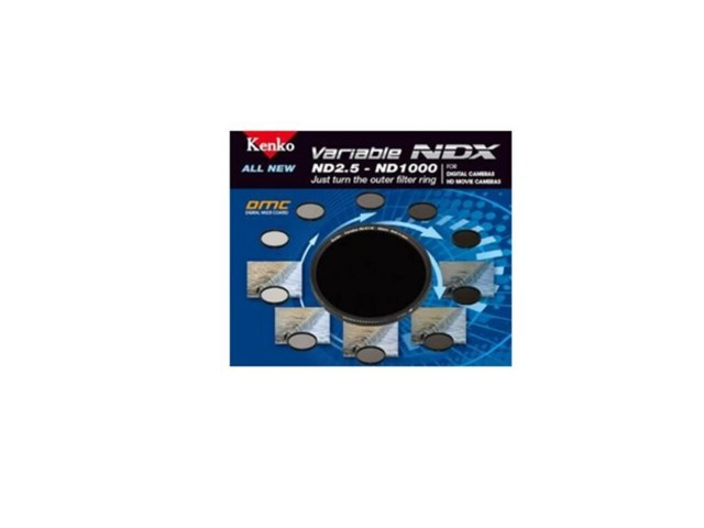 Kenko ND-filter ND2,5-ND1000 variable NDX 82mm