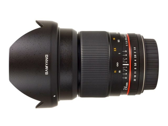 Samyang 24mm f/1.4 ED AS UMC til Sony