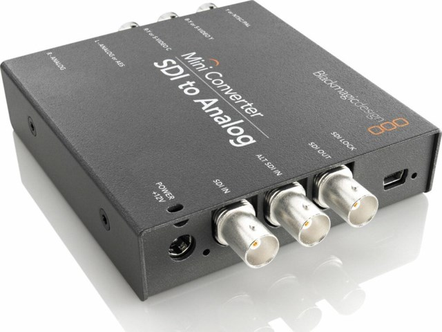 Blackmagic Design mini konverter - SDI til Analog