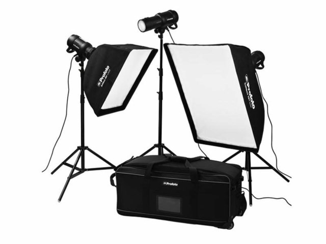 Profoto Blixtpaket D1 Studio Kit 500/500/1000 exkl Air