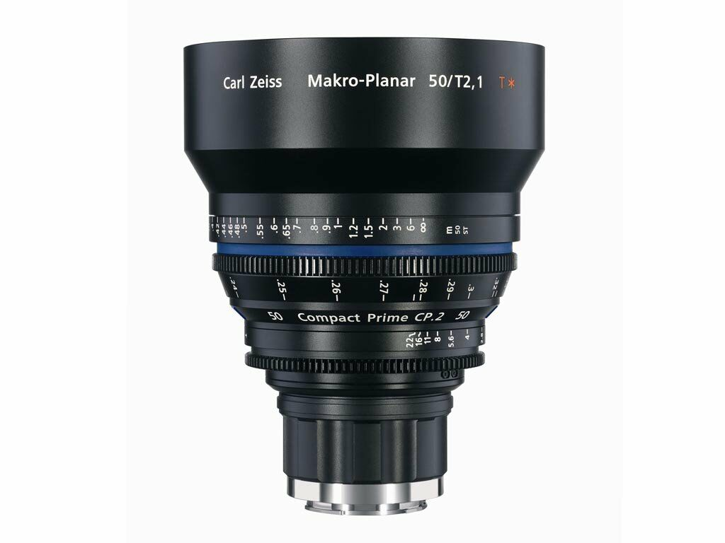 Zeiss Compact Prime CP.2 50mm T2.1 Macro Canon EF-mount