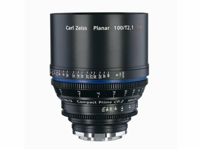 Zeiss Compact Prime CP.2 100mm T2.1 CF PL-mount