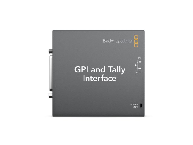 Blackmagic Design GPI & Tally interface