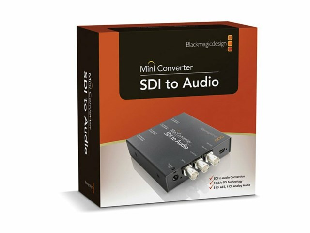 Blackmagic Design Mini Converter - SDI til Audio