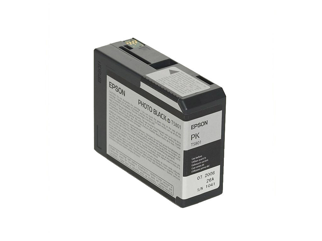 Epson Epson Blekk T5801 Photo Black 80ml