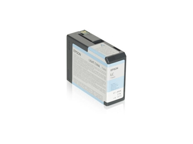 Epson Blekk T5805 Light Cyan, 80ml