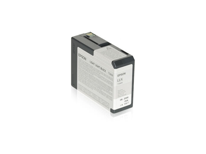 Epson Blekk T5809 Light Light Black 80ml