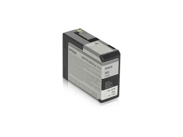 Epson Blekk T5808 Matte Black, 80ml