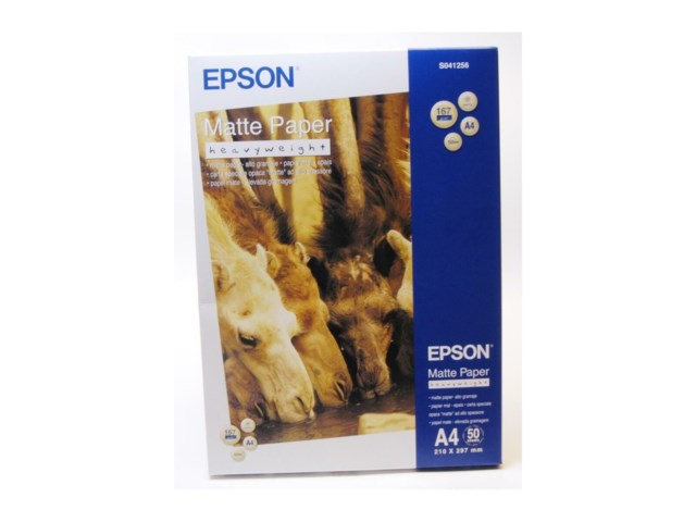 Epson A4 Papir Matte-Heavyweight