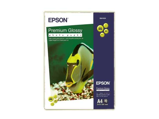 Epson Prem Glossy Photo Paper A4 50 ark