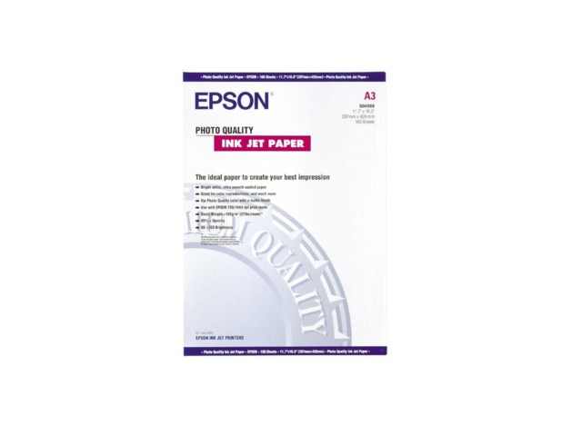 Epson Fotopapper A3 photo quality 102gr 100 blad