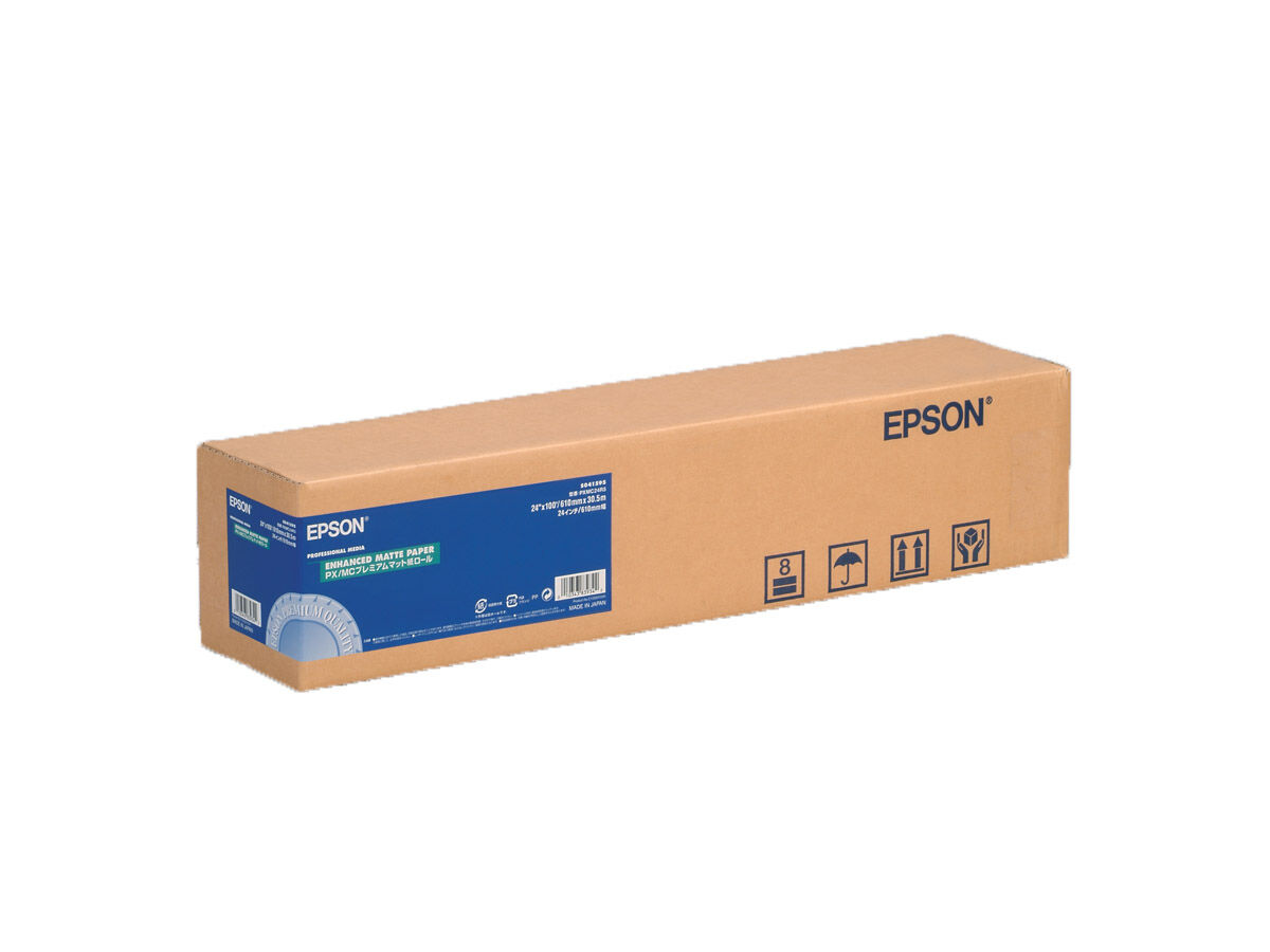 "Epson Enhanced Matte Paper Roll 24""x30,5"