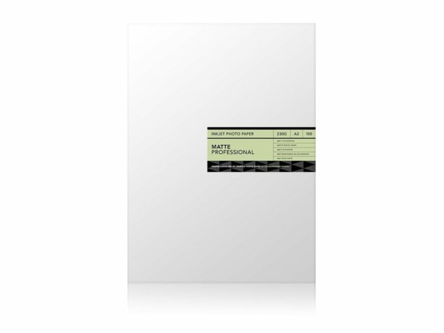 Scandinavian Photo Fotopapir A2 Matt Professional 230 gram 100 ark