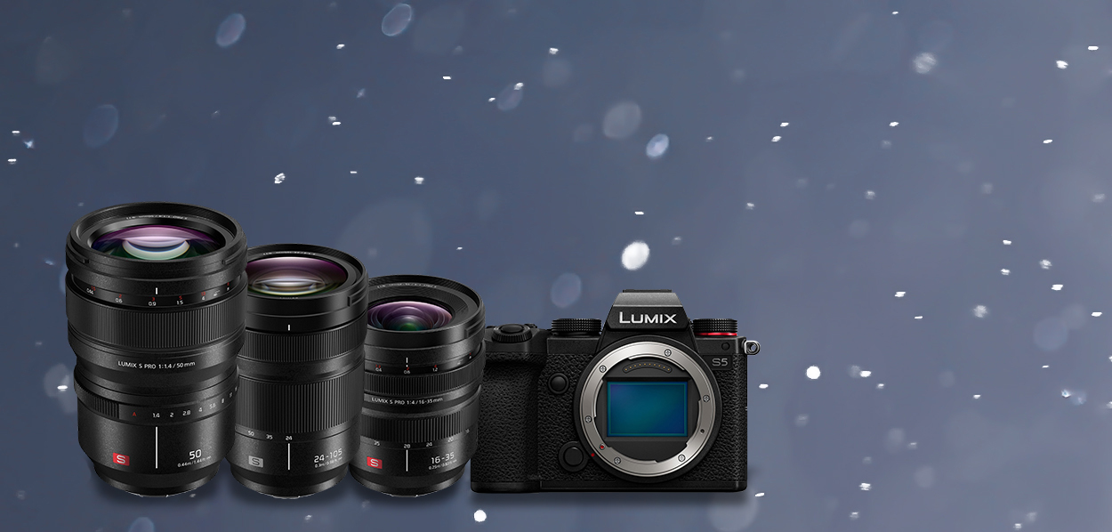 Panasonic lens bundle campaign